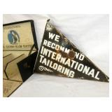 VIEW 3 OTHERSIDE PORC. INTERNATIONAL TAILORING SIGN