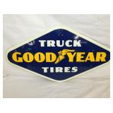 16X28 NOS TRUCK GOODYEAR TIRES SIGN