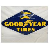 26X48 PORC. GOODYEAR TIRES SIGN
