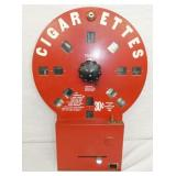 19X27 DIAL A SMOKE CIGARETTES DISPENSER