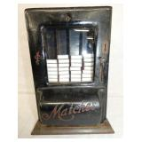 10X14 1CENT BLACK MATCHES COIN SELECTOR