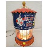 13X19 ANIMATED BIG TOP PEANUTS CIRCUS NUTS MACHINE