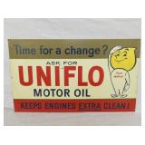 11X18 ESSO UNIFLOW MOTOR OIL