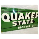 VIEW 2 CLOSEUP EMB. QUAKER STATE MOTOR OIL