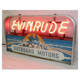 VIEW 2 EVINRUDE OUTBOARD MOTORS NEON