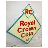 VIEW 2 LEFTSIDE OLD STOCK RC DIAMOND SIGN