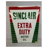 18X24 NOS PORC. SINCLAIR EXTRA DUTY SIGN