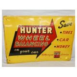 27X39 EMB. HUNTER WHEEL BALANCING SIGN