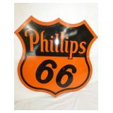 30IN PORC.PHILLIPS 66 SHEILD SIGN