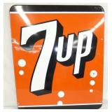 31X36 PORC. 7UP SIGN
