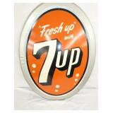 VIEW 2 CLOSEUP 7UP OVAL SIGN
