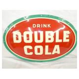 23X35 BUBBLE EMB. DOUBLE COLA SIGN
