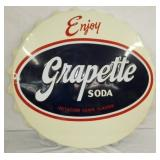 36IN EMB. GRAPETTE SODA CAP SIGN