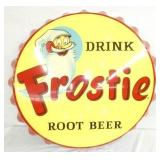 36IN FROSTIE ROOTBEER CAP SIGN