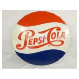 36IN EMB. PEPSI COLA CAP SIGN