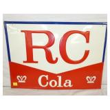20X27 EMB. RC COLA SIGN