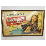30X50 DR. PEPPER PEPPY PARTY CARDBOARD
