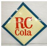 17IN OLD STOCK DIAMOND RC COLA SIGN