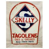 VIEW 2 OTHERSIDE PORC. SKELLY GASOLINE SIGN