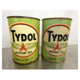 NOS TYDOL MOTOR OIL W/ FLYING A