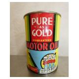 PEP BOYS PURE GOLD OIL CANS
