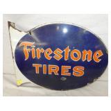 17X21 PORC. FIRESTONE TIRES FLANGE