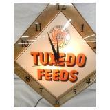 TUXEDO FEEDS PAM CLOCK