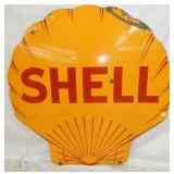 42IN PORC. SHELL SIGN