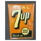 27X39 7UP SOLD HERE SIGN