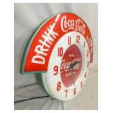 VIEW 2 RARE AND HARD TO FIND COKE CLOCK
