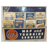 16X18 GULF MAP DISPLAY W/ PRODUCT