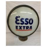 EARLY METAL BODY ESSO PUMP GLOBE