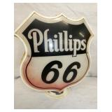 PHILLIPS 66 PLASTIC PUMP GLOBE