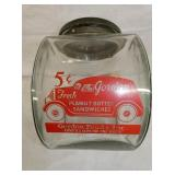 RARE 5CENT GORDONS JAR