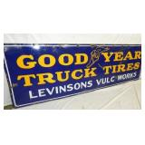 VIEW 2 LEFTSIDE GOODYEAR TRUCK TIRES SIGN
