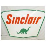 60X84 1961 PORC. SINCLAIR DINO SIGN