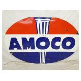 48X71 PORC. AMOCO SIGN