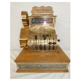 18X21 RESTORED NATIONAL #186 CASH REGISTER