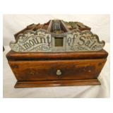 "ORNATE ""MONITOR"" RECEIPTS BOX"