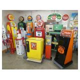 COLLECTION GAS PUMPS,AIR METERS,SIGNS