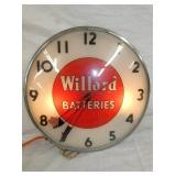 15IN WILLARD BATTERIES PAM CLOCK