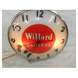 VIEW 2 WILLARD BATTERIES PAM CLOCK