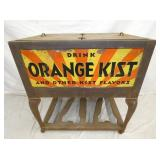 32X33 EMB. ORANGE KIST ICE CHEST COOLER