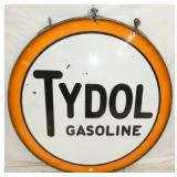 48IN PORC. TYDOL GASOLINE SIGN W/ BAND
