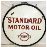 VIEW 2 OTHERSIDE STANDARD MOTOR OIL PORC. SIGN