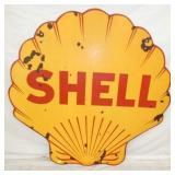 VIEW 2 OTHERSIDE 48IN PORC. SHELL SIGN