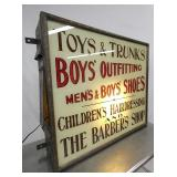 VIEW 3 UNUSUAL BOYS/CHILDRENS/BARBER SHOP SIGN