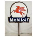31X37 PORC. MOBILOIL LOLLIPOP SIGN