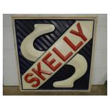 72IN EMB. SKELLY PLASTIC INCERT SIGN