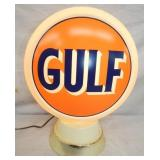 OLD STOCK 12IN LIGHTED GULF GLOBE